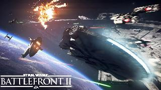 Star Wars Battlefront II Starfighter Assault Gameplay