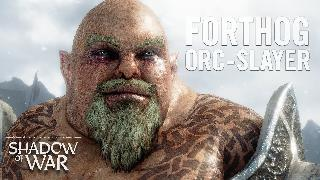 Middle-earth Shadow of War Forthog Orc-Slayer Trailer