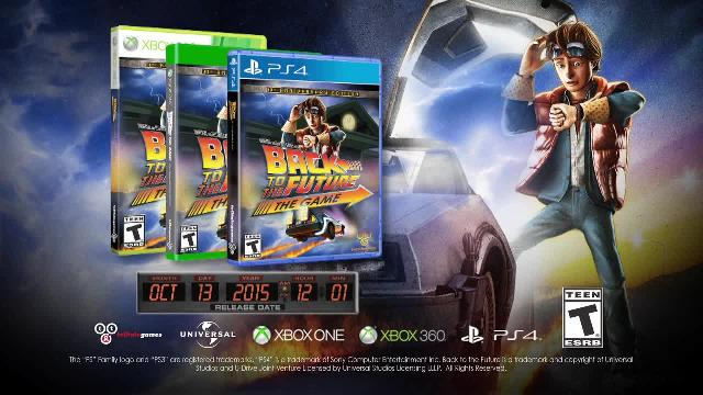 Back to the Future: The Game - 30th Anniversary Edition Trailer