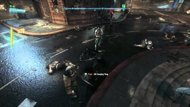 Batman Arkham Knight - Officer Down Gameplay Video
