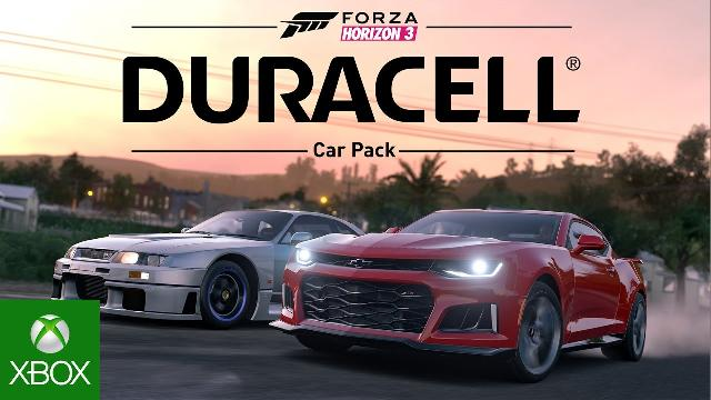 forza horizon 3 duracell car pack dlc. Black Bedroom Furniture Sets. Home Design Ideas