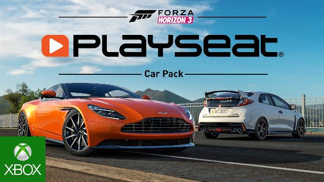 forza horizon 3 playseat car pack. Black Bedroom Furniture Sets. Home Design Ideas