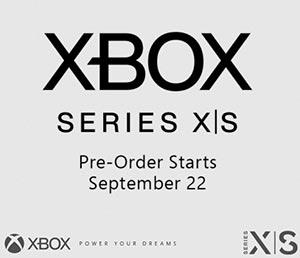 Preorder Xbox Series X