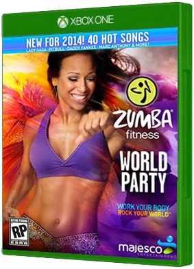 Zumba Fitness World Party video game, Xbox One, xone