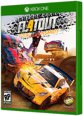 flatout 4 total insanity for xbox one xbox one games. Black Bedroom Furniture Sets. Home Design Ideas
