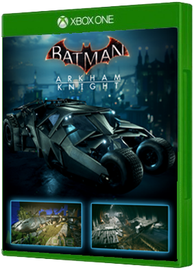 Batman: Arkham Knight 2008 Tumbler Batmobile Pack