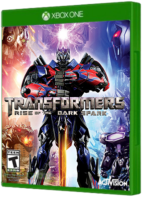 Transformers: Rise of the Dark Spark video game, Xbox One, xone