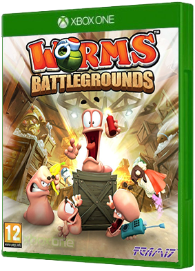 Worms Battlegrounds video game, Xbox One, xone