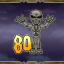 Defeat 80 skeletons