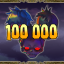 100000 enemies defeated