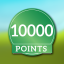 First 10000p. achievement