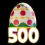 The 500 Easter Eggs