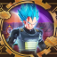 This is the New Super Saiyan Blue!