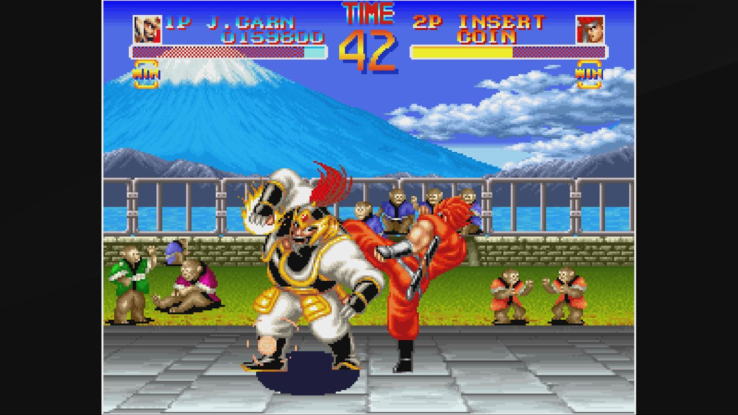 ACA NEOGEO: World Heroes screenshot 10034