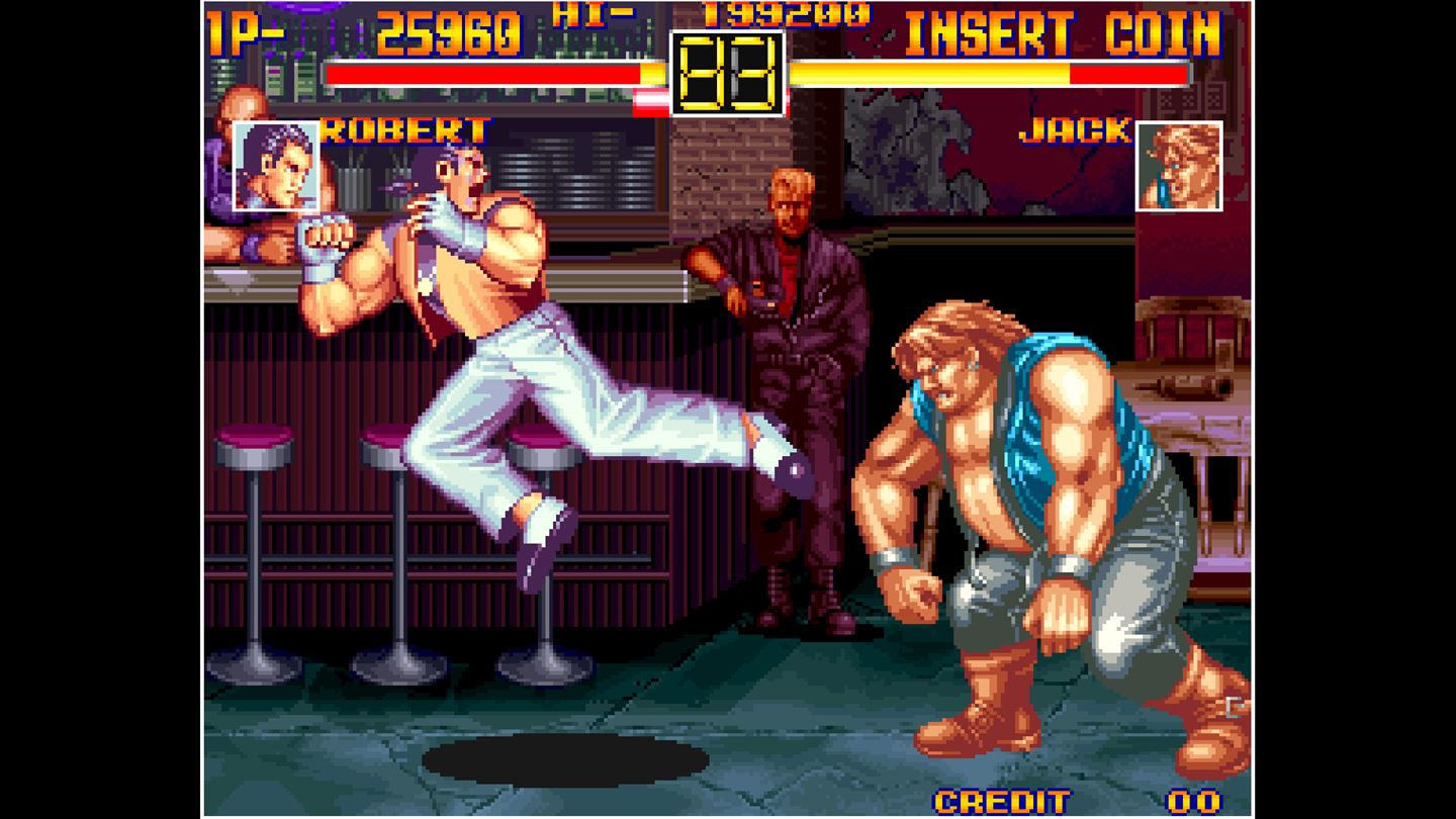 ACA NEOGEO: Art of Fighting screenshot 10342