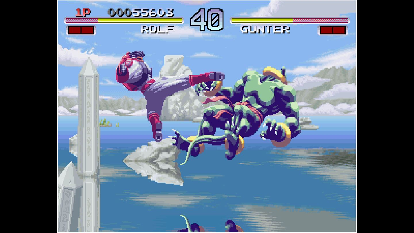 ACA NEOGEO: Galaxy Fight: Universal Warriors screenshot 10493
