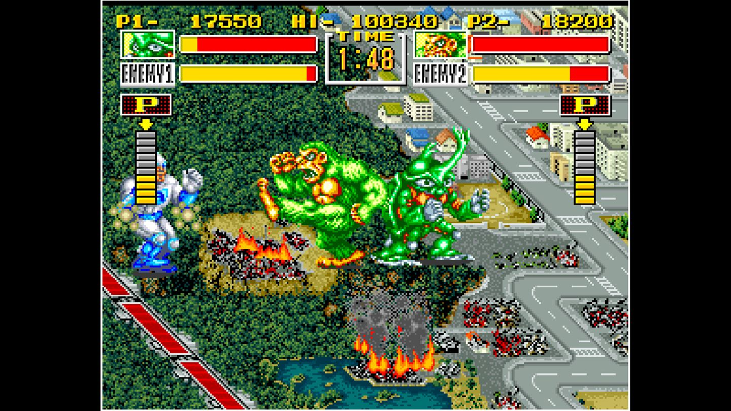 ACA NEOGEO: King of the Monsters screenshot 11166