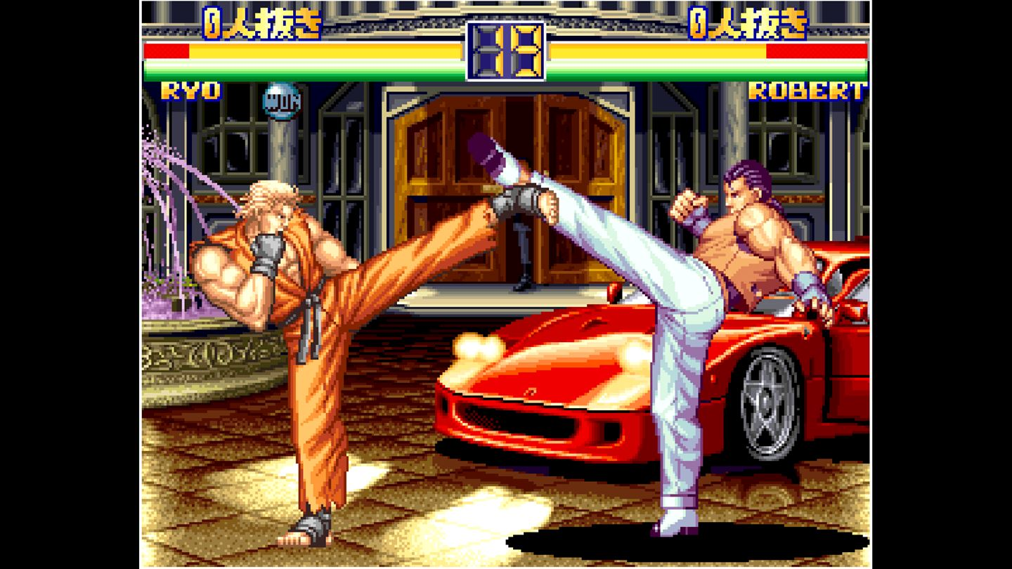 ACA NEOGEO: Art of Fighting 2 screenshot 11312