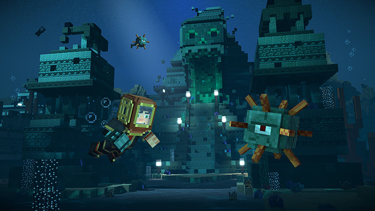 Minecraft: Story Mode Season Two screenshot 11373