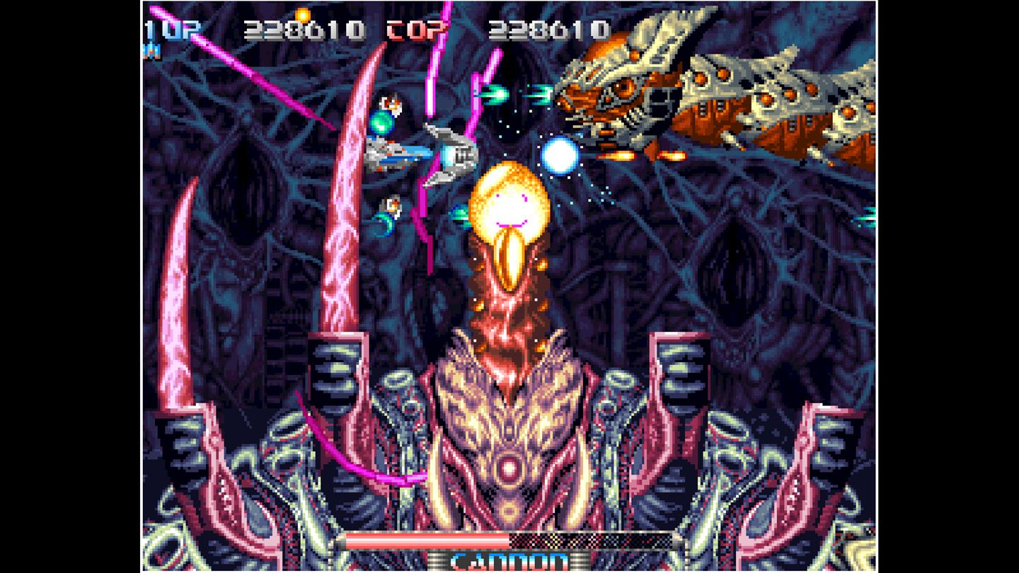 ACA NEOGEO: Pulstar screenshot 11464