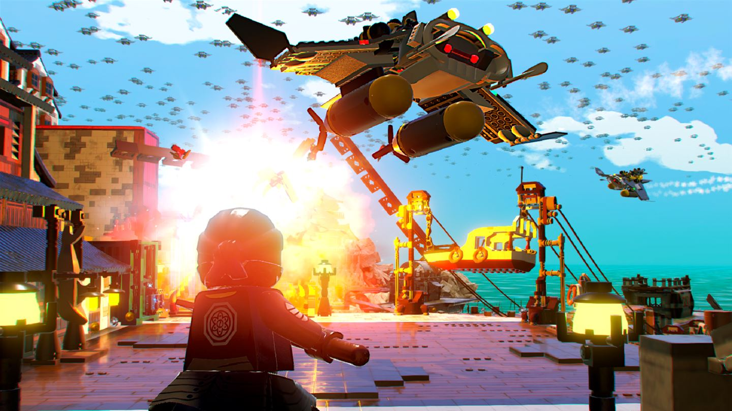 The LEGO Ninjago Movie Video Game screenshot 12552