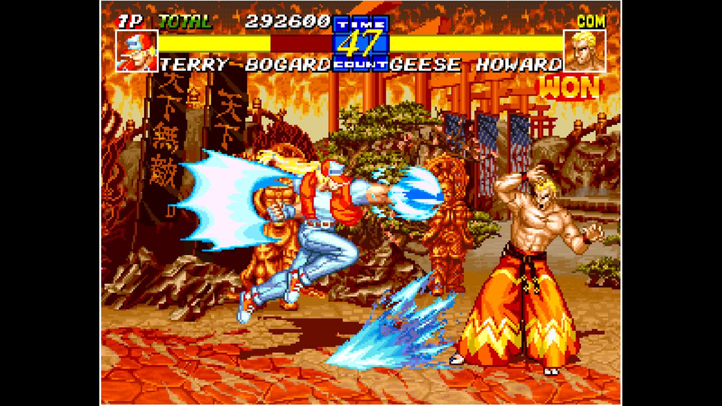 ACA NEOGEO: Fatal Fury 3 screenshot 12383