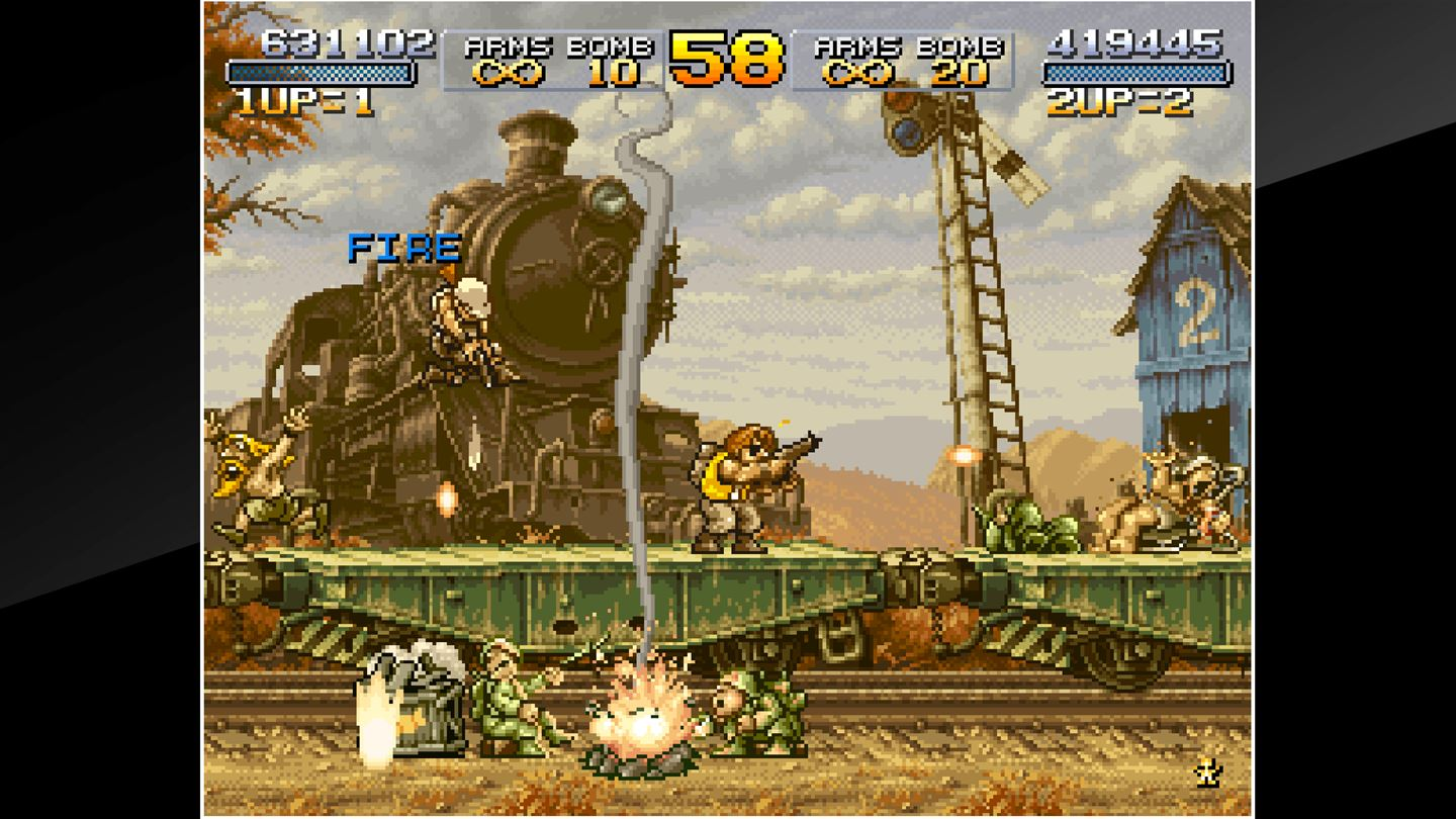 ACA NEOGEO: Metal Slug X screenshot 12903