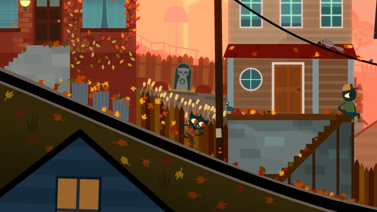 night in the woods weird autumn edition screenshots image 13462 xboxone hq com. Black Bedroom Furniture Sets. Home Design Ideas
