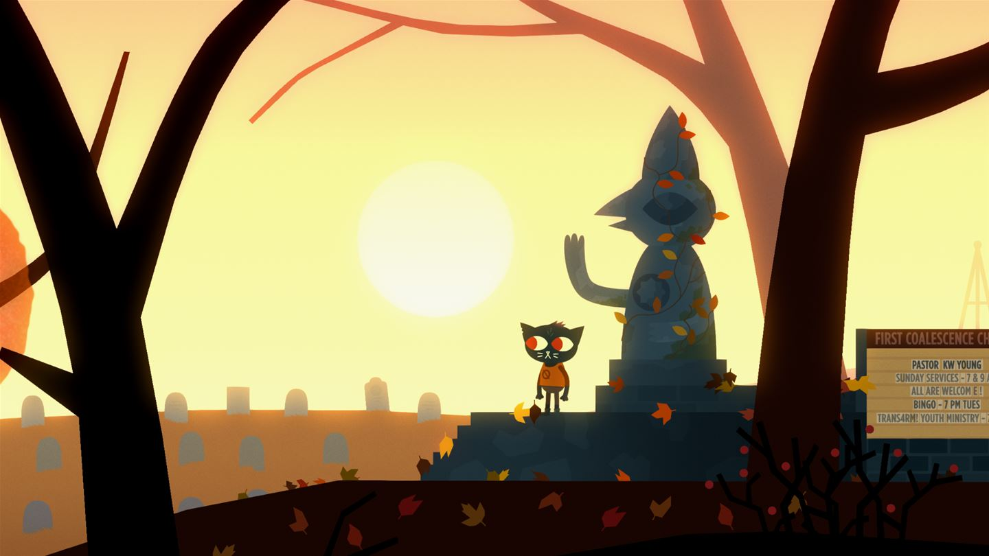 night in the woods weird autumn edition screenshots image 13465 xboxone hq com. Black Bedroom Furniture Sets. Home Design Ideas