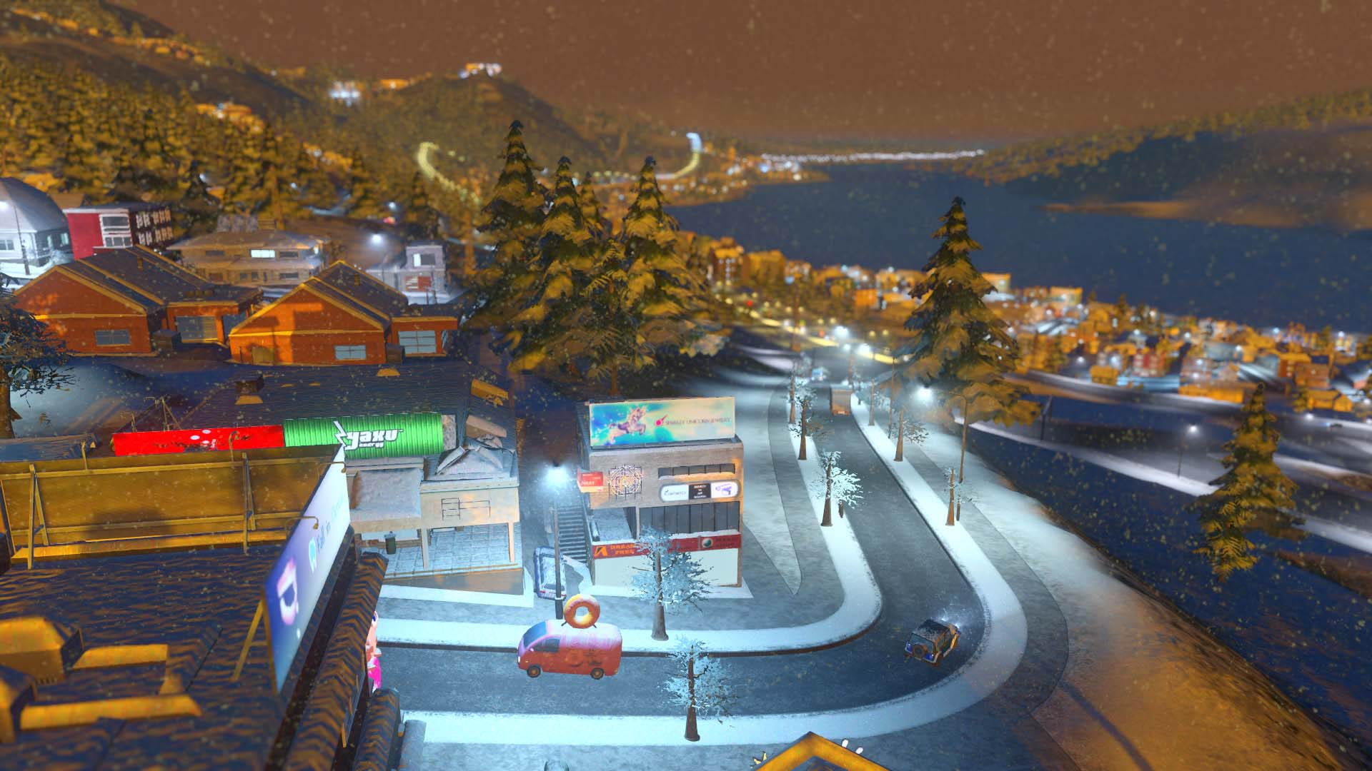 Cities: Skylines - Snowfall screenshot 13276