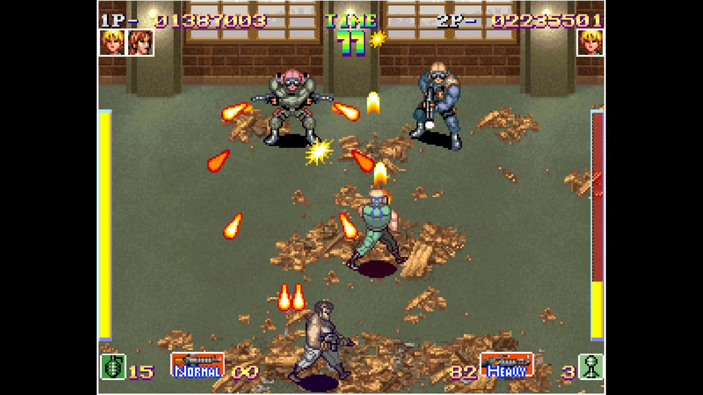 ACA NEOGEO: Shock Troopers screenshot 13678