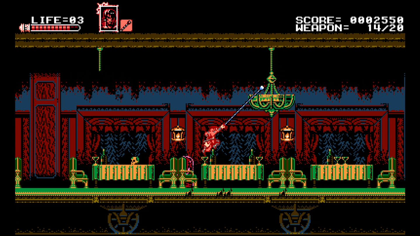 Bloodstained: Curse of the Moon screenshot 15108