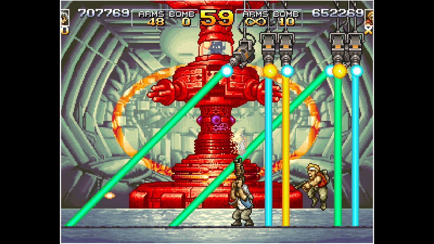 ACA NEOGEO: Metal Slug 4 screenshot 16215