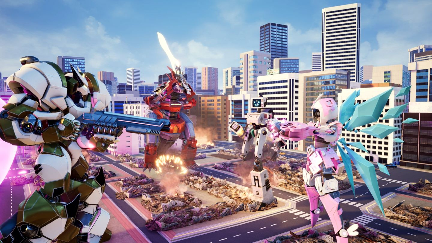 Override: Mech City Brawl screenshot 16258