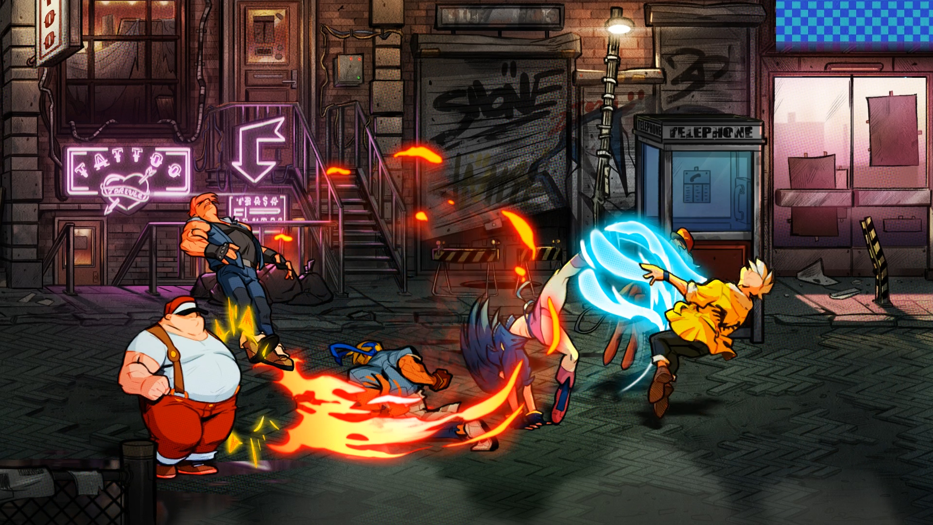 Streets of Rage 4 screenshot 16855