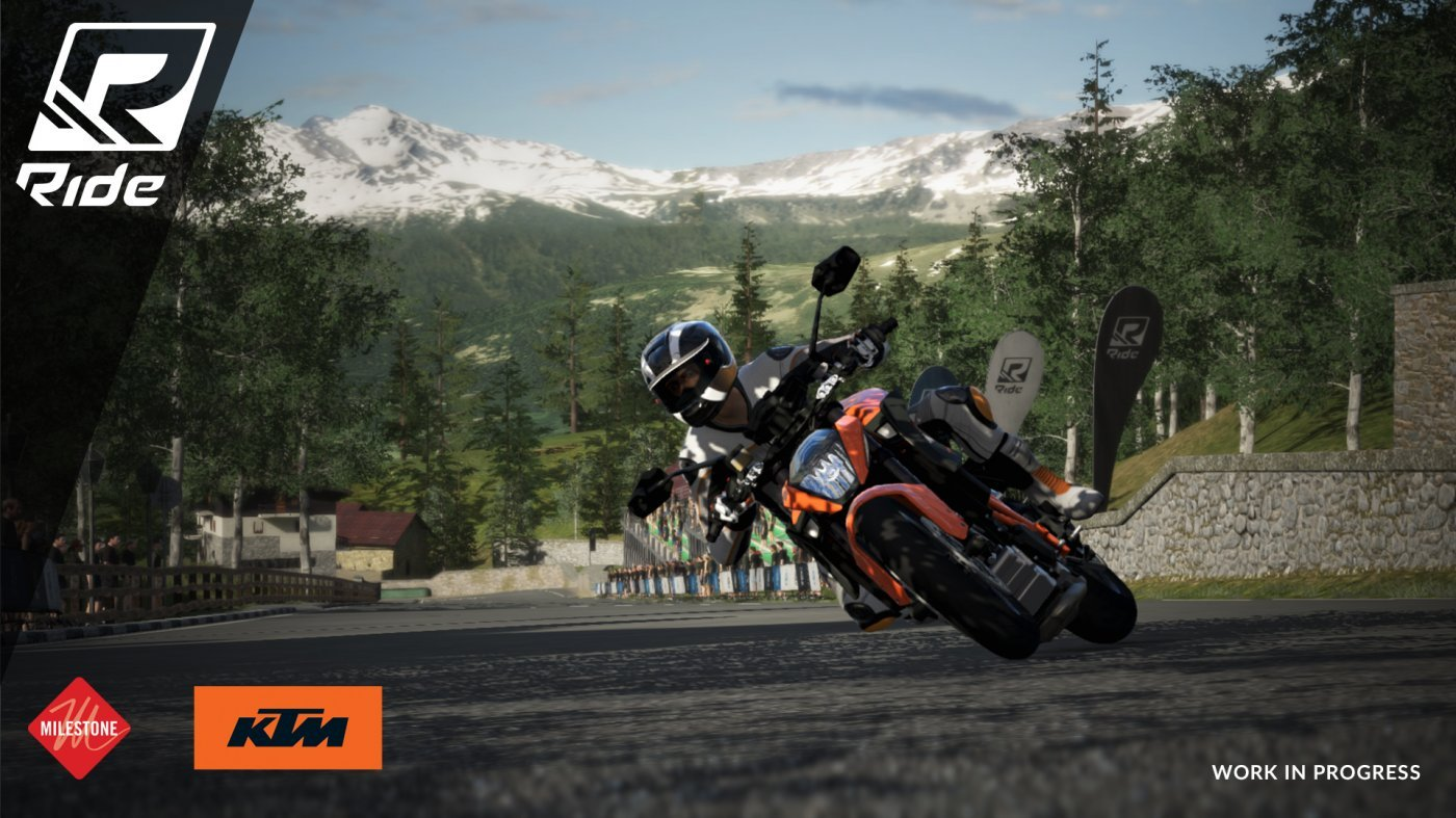 RIDE Video Game Screenshot