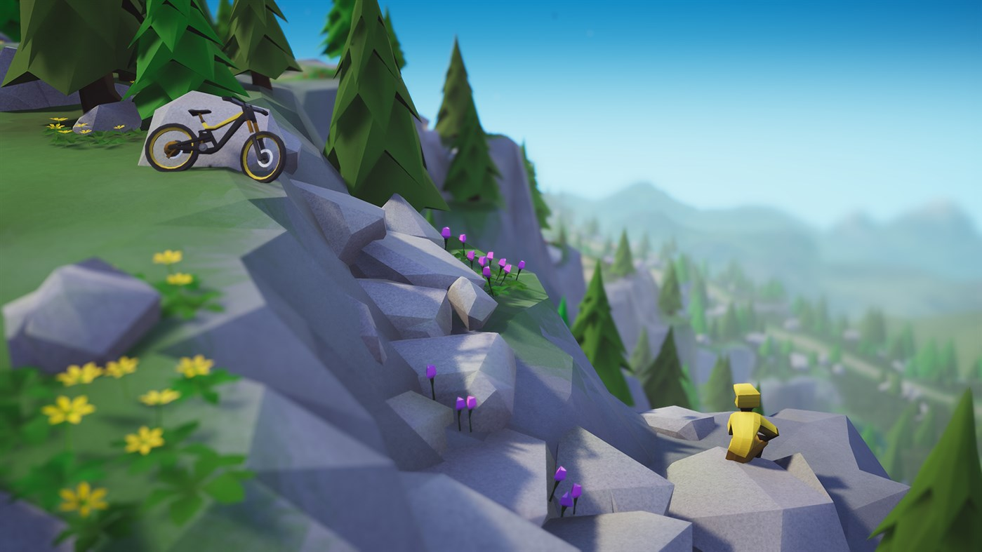 Lonely Mountains: Downhill screenshot 22988