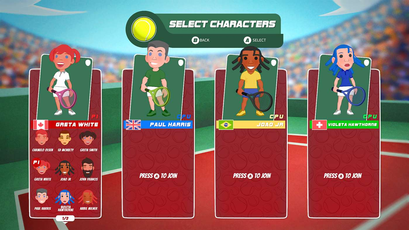 Super Tennis Blast screenshot 20397