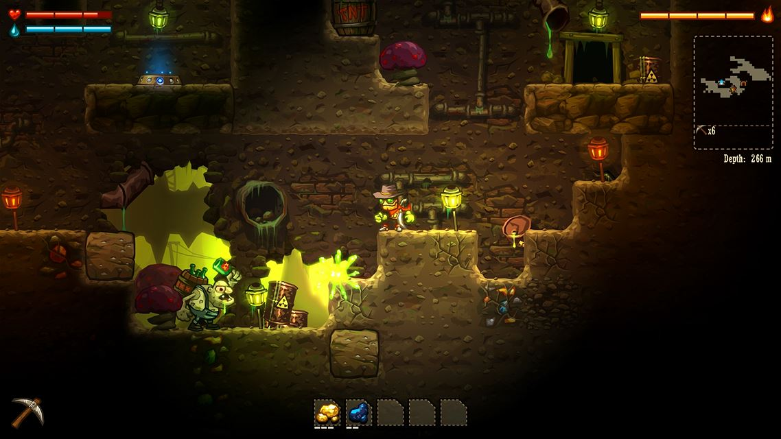 SteamWorld Dig screenshot 3424