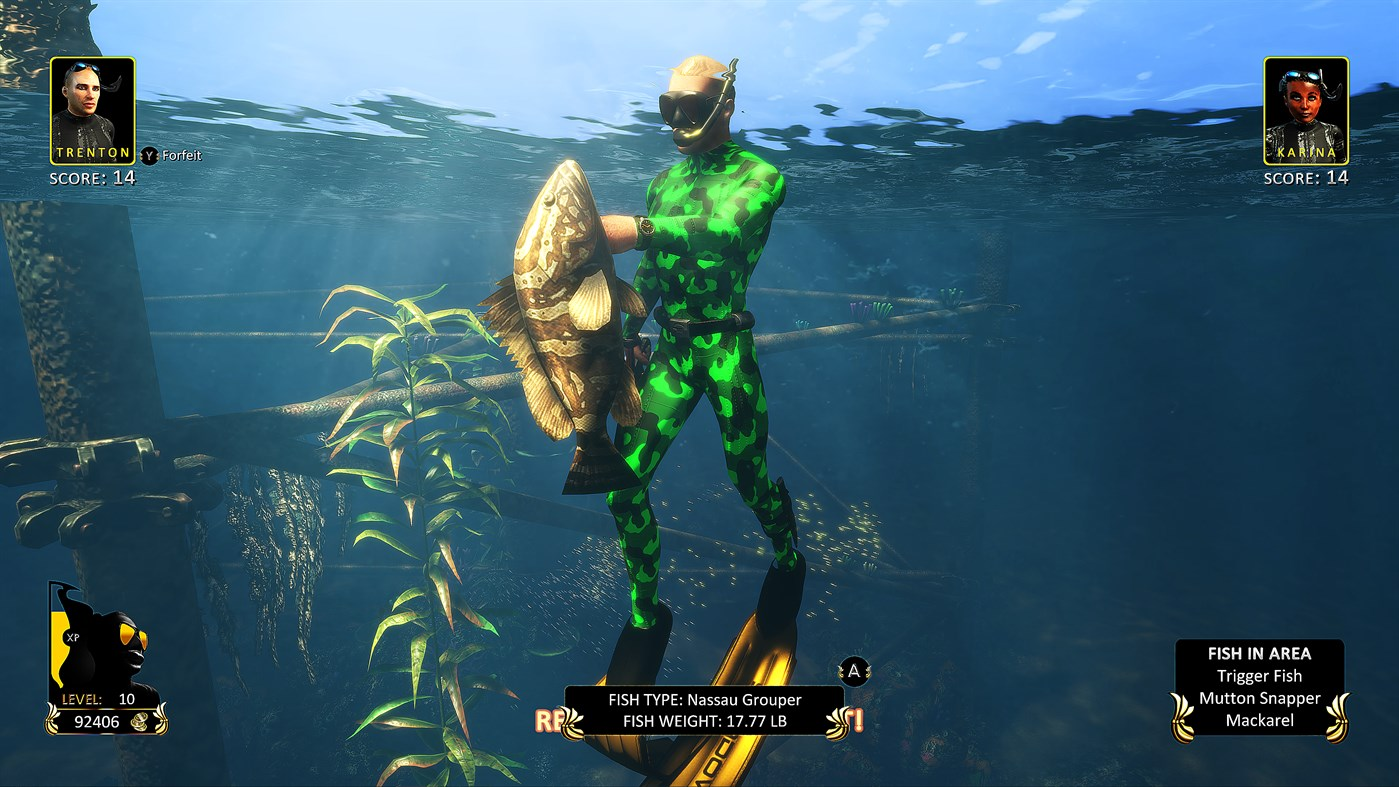Freediving Hunter: Spearfishing the World screenshot 23836
