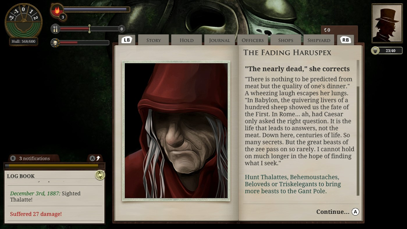 Sunless Sea: Zubmariner Edition screenshot 26695