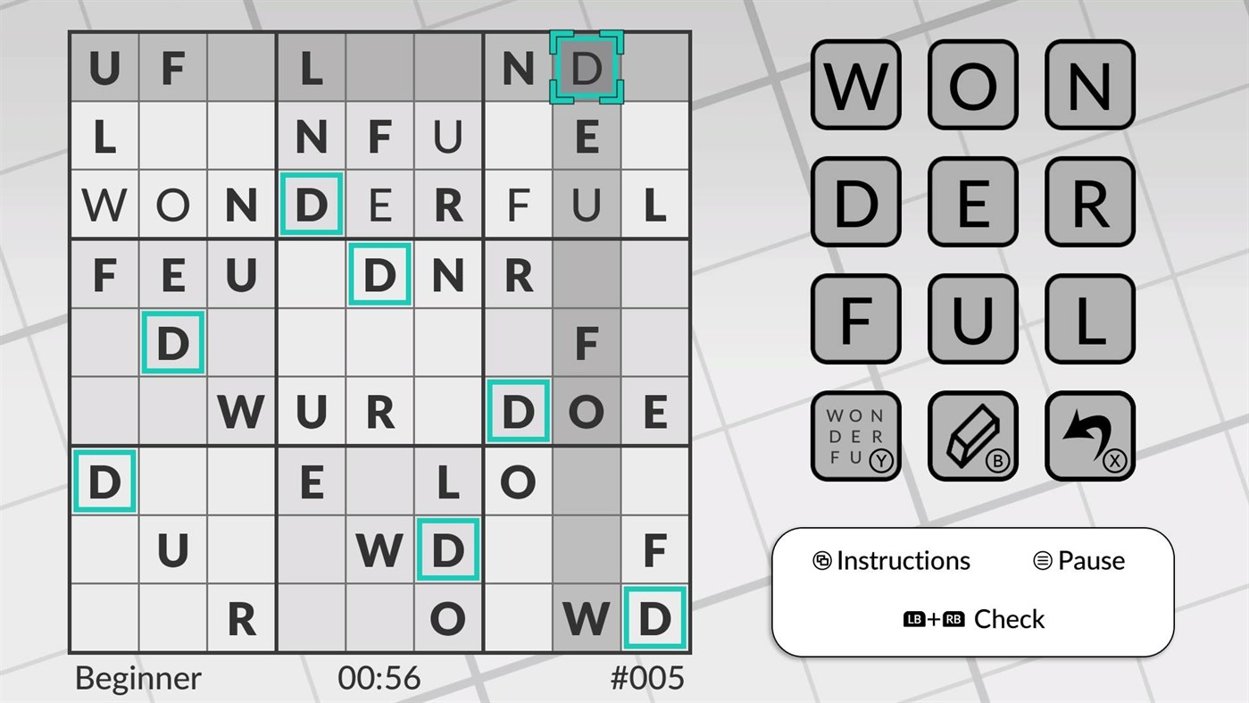 Word Sudoku by POWGI screenshot 30833