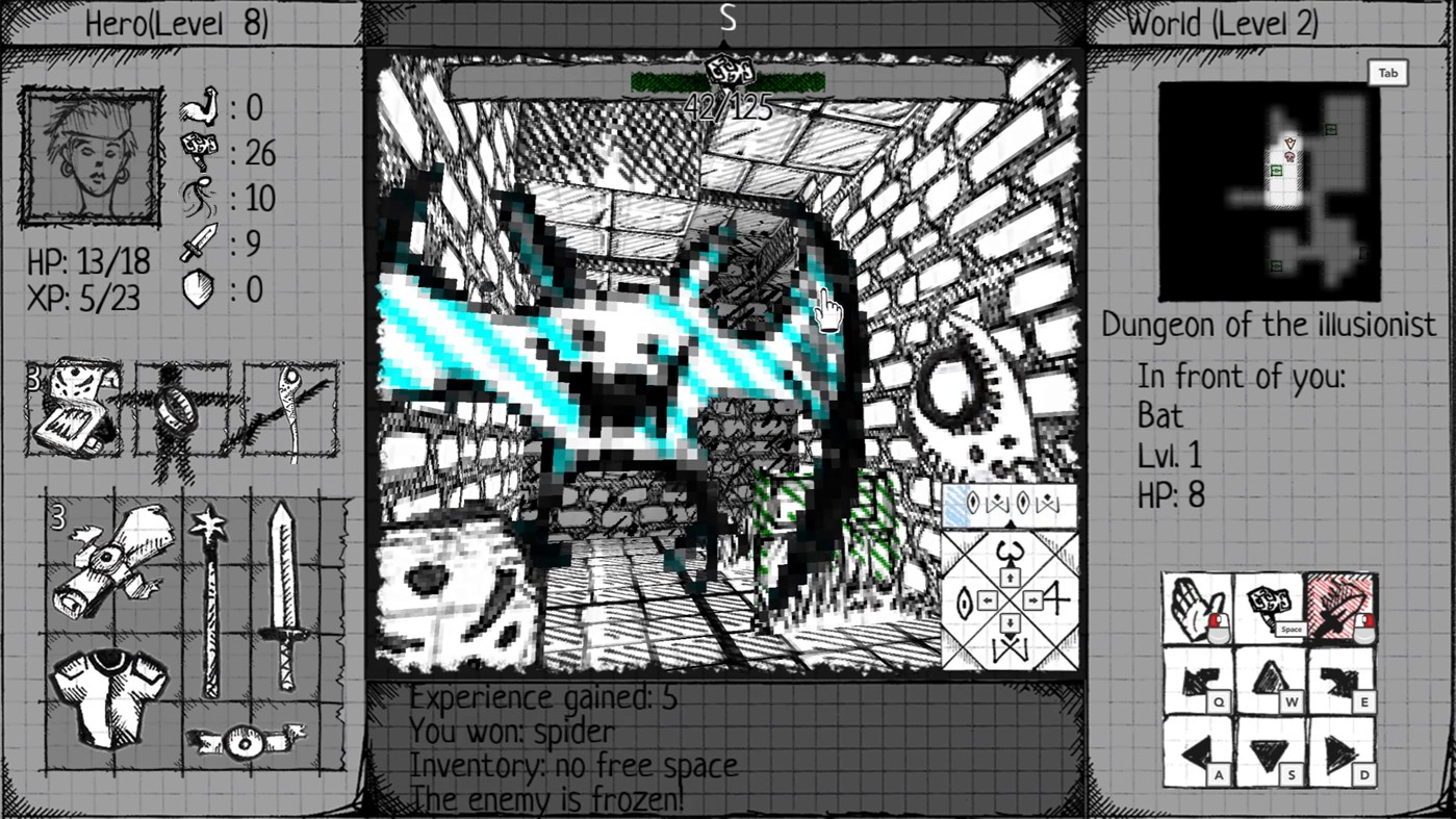Drawngeon: Dungeons of Ink and Paper screenshot 31841