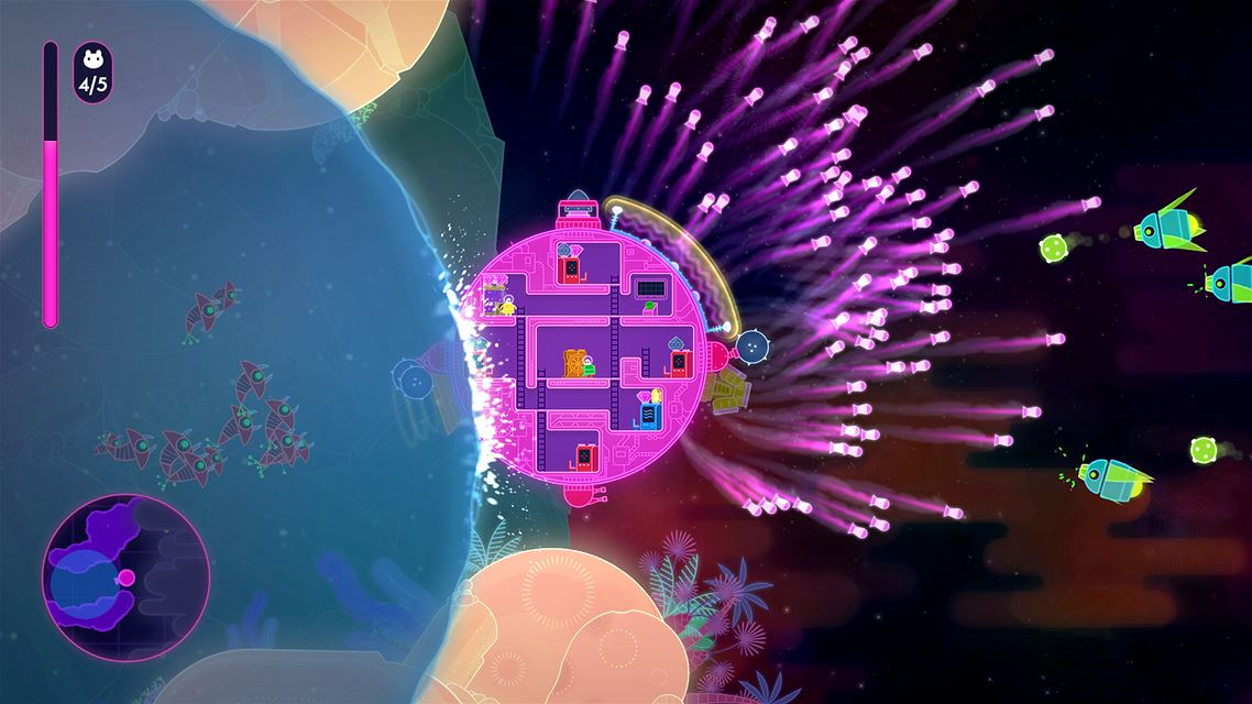 Lovers in a Dangerous Spacetime screenshot 4475