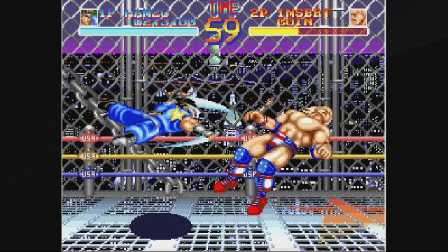 ACA NEOGEO: World Heroes screenshot 10029