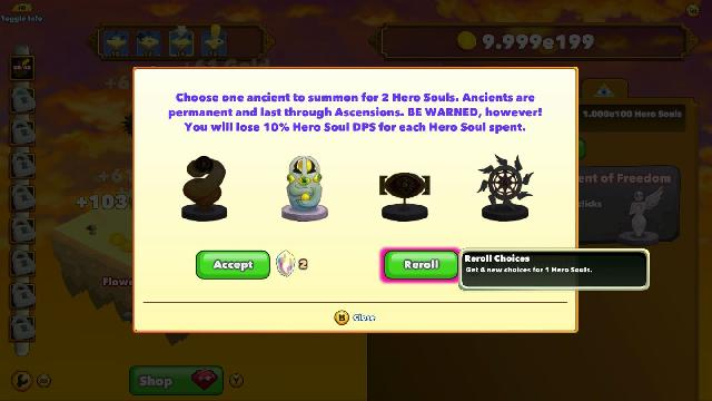 Clicker Heroes screenshot 10184