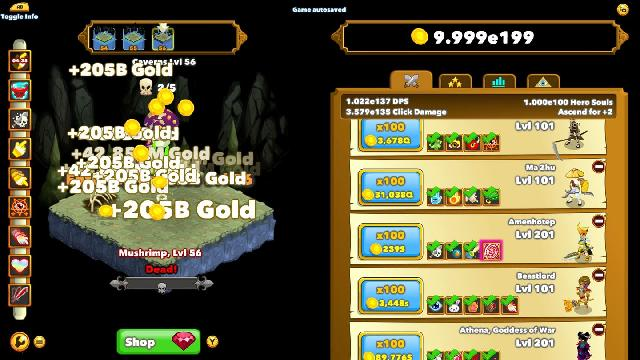 Clicker Heroes screenshot 10185