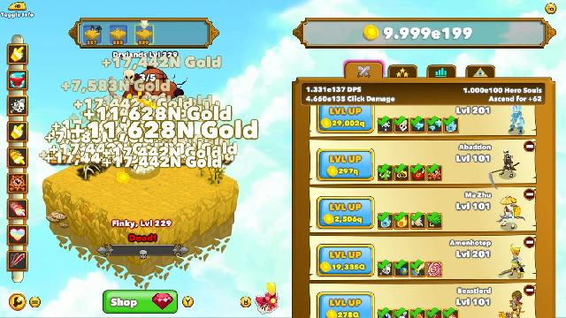 Clicker Heroes screenshot 10187
