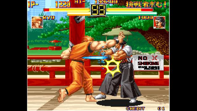 ACA NEOGEO: Art of Fighting screenshot 10341
