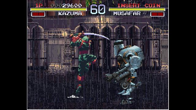 ACA NEOGEO: Galaxy Fight: Universal Warriors screenshot 10491